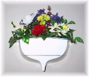 "15"" Half-Hull Boat Transom Window Box Planter"